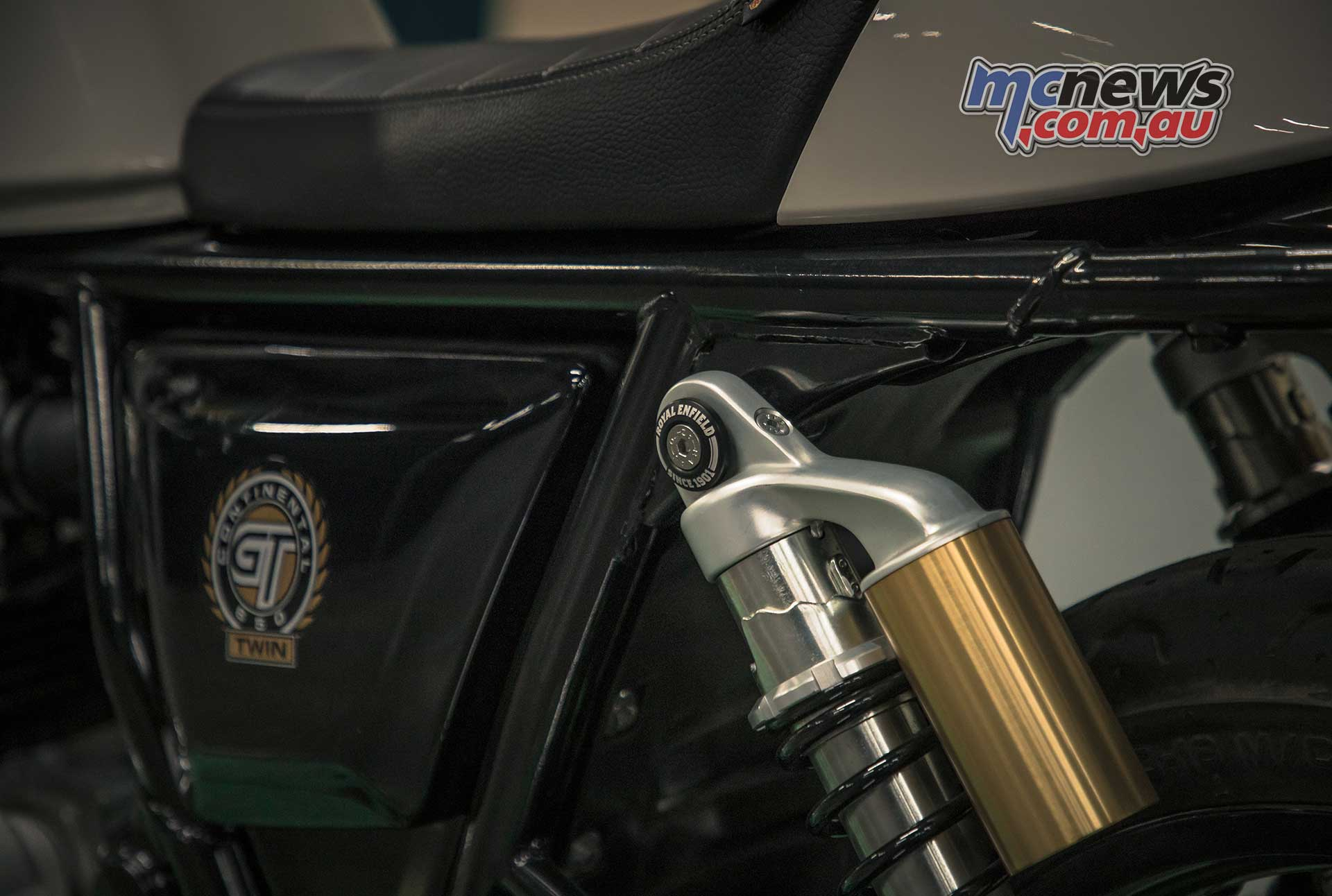 Royal Enfield Continental GT Detail