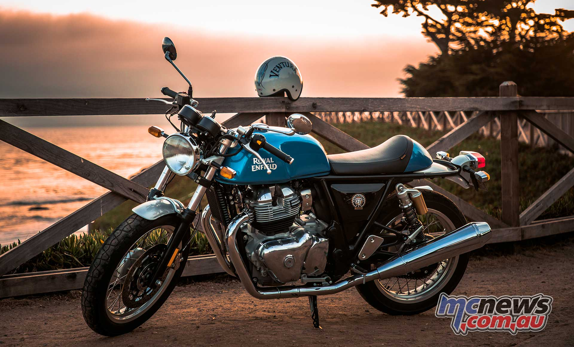 Royal Enfield Continental GT Scene