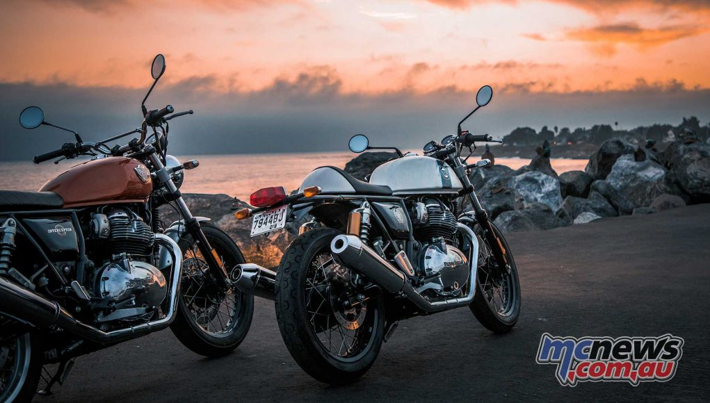 Royal Enfield Interceptor Continental GT Scene