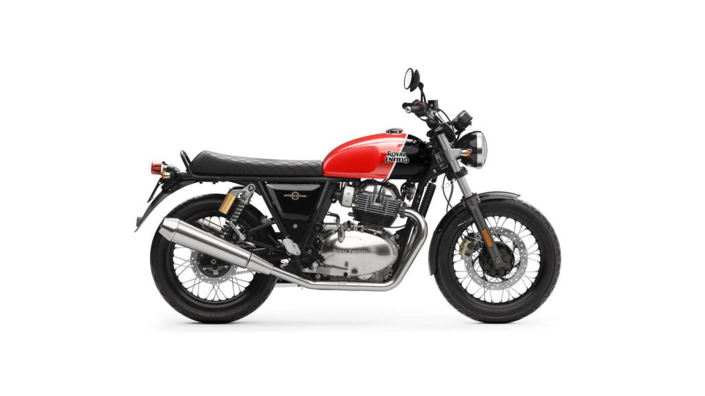 Royal Enfield Interceptor INT Red Right x