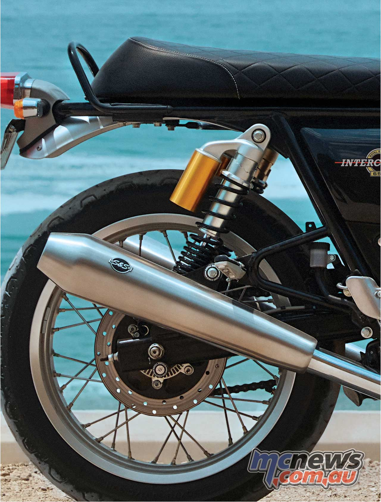Royal Enfield Interceptor Pipes SS