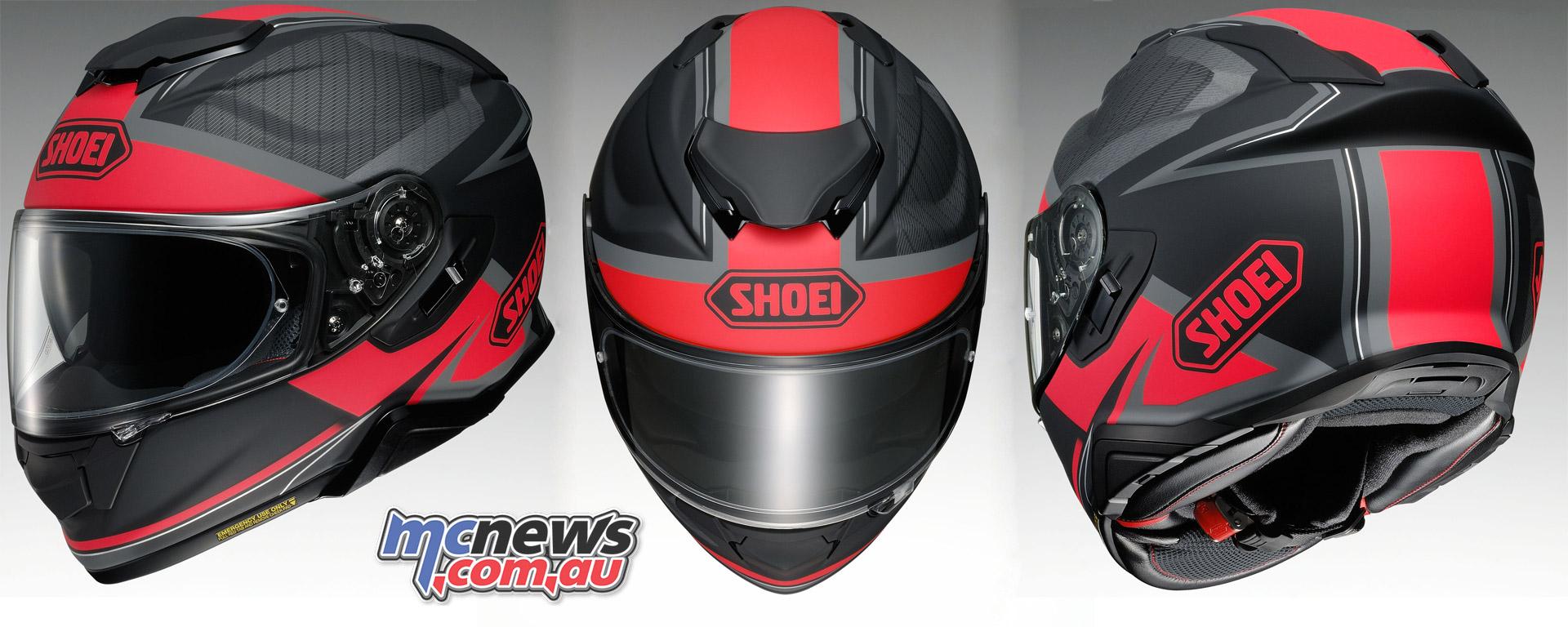 Shoei Gt Air >> Shoei's new GT-Air II Helmet arrives March | Sena SRL2 ...