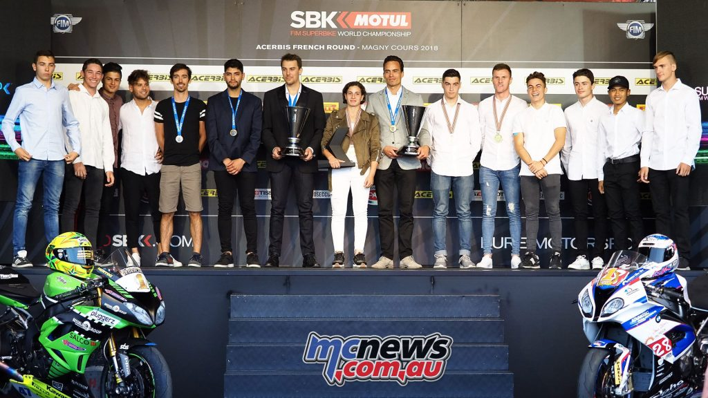WSBK Magny Cours European Champions
