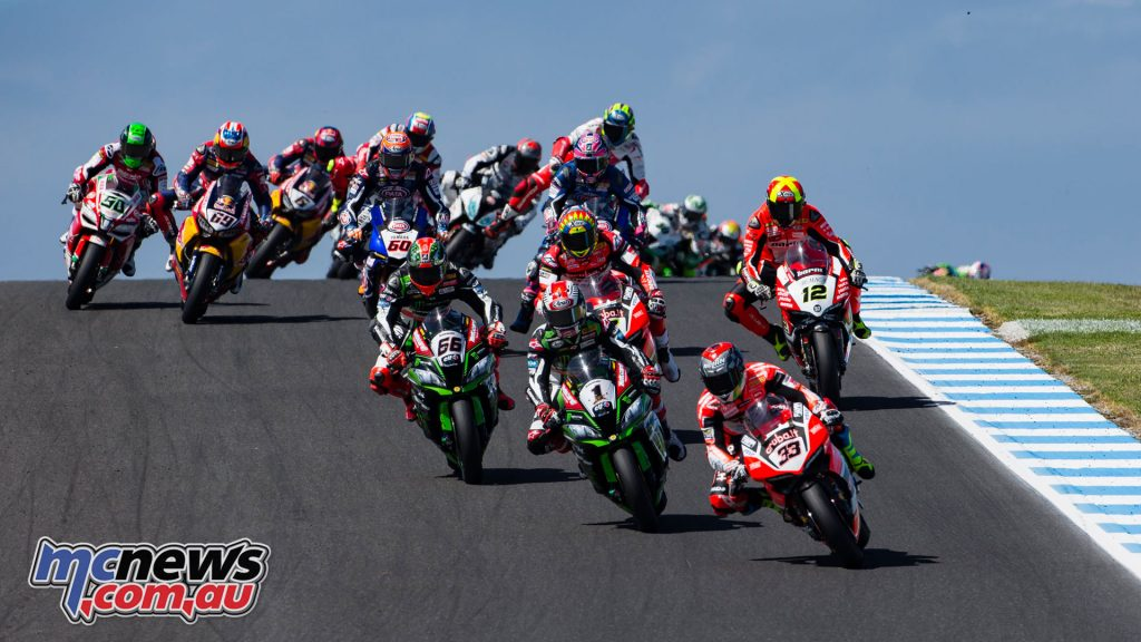 WorldSBK Phillip Island Preview Lukey Heights Snap