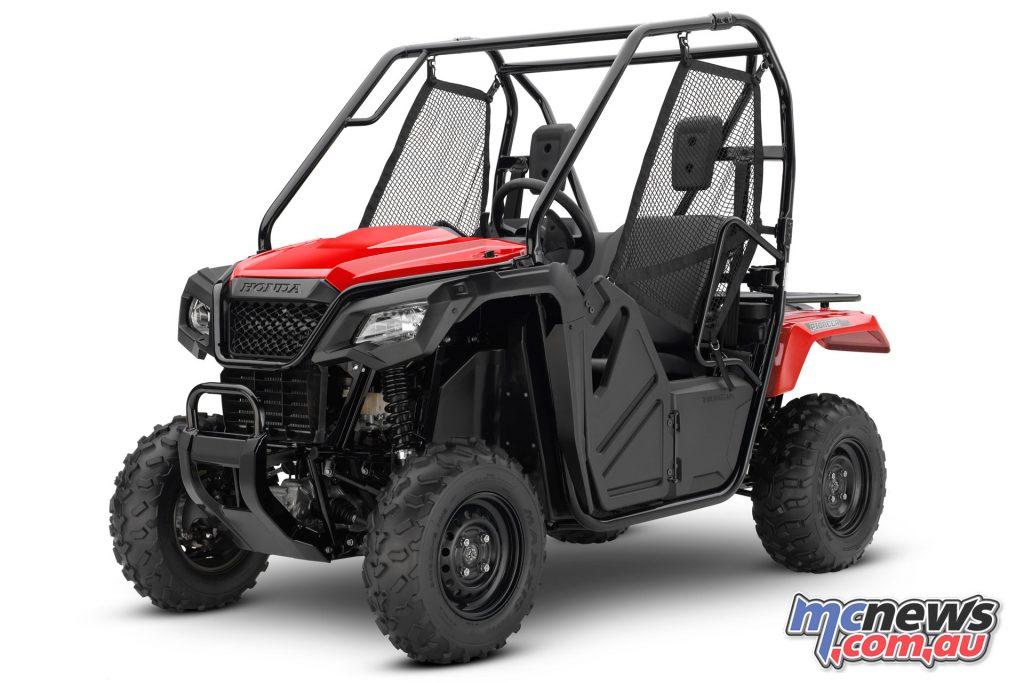 Honda Pioneer red