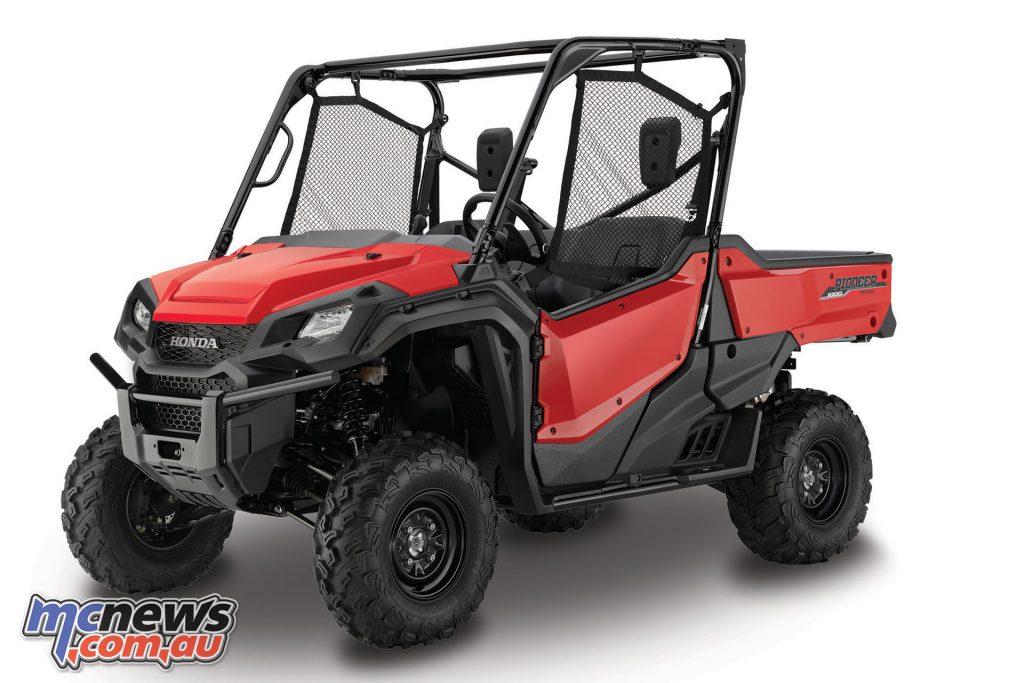Honda Pioneer EPS Red