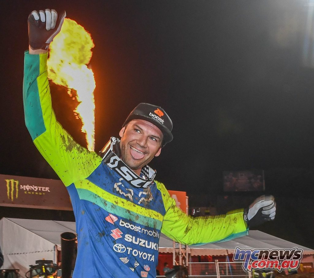 AUS X Open International Supercross FIM Oceania Championship SX Chad Reed