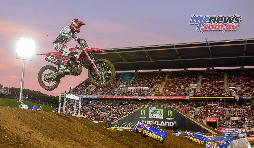 AUS X Open International Supercross FIM Oceania Championship SX Josiah Natzke