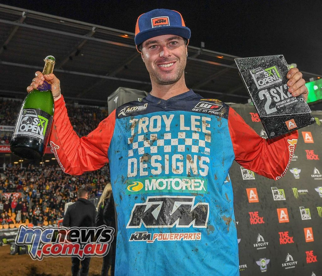 AUS X Open International Supercross FIM Oceania Championship SX Ryan Marmont
