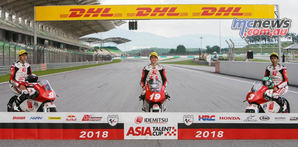 Asia Talent Cup Billy Van Eerde Champ