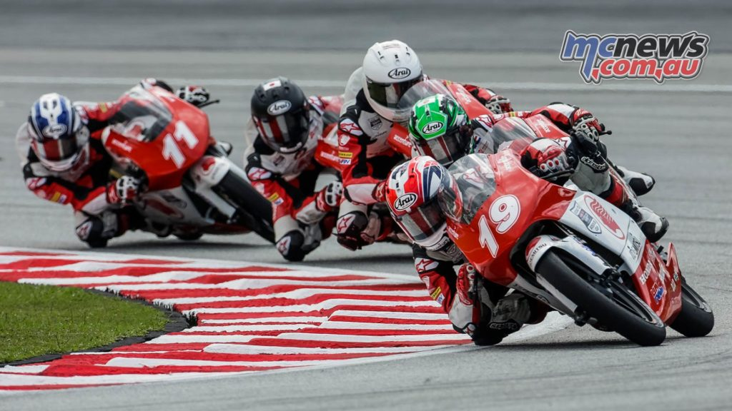 Asia Talent Cup Billy Van Eerde Group