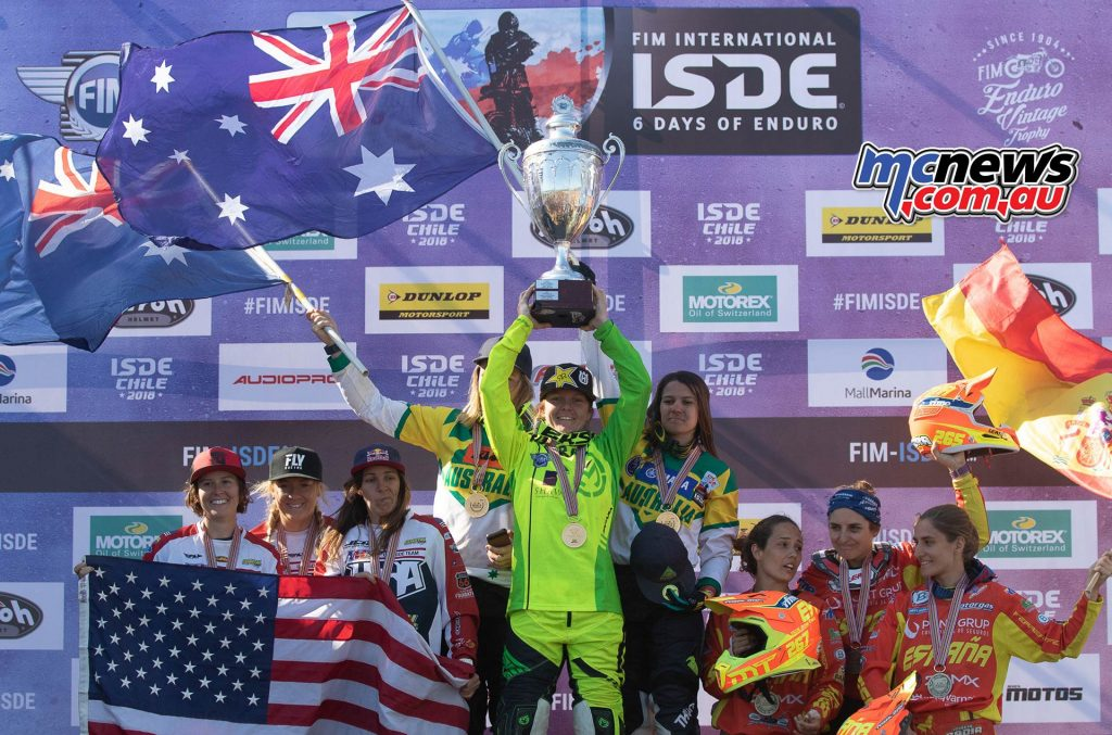ISDE Womens Australia Trophy ImageJohnPearson