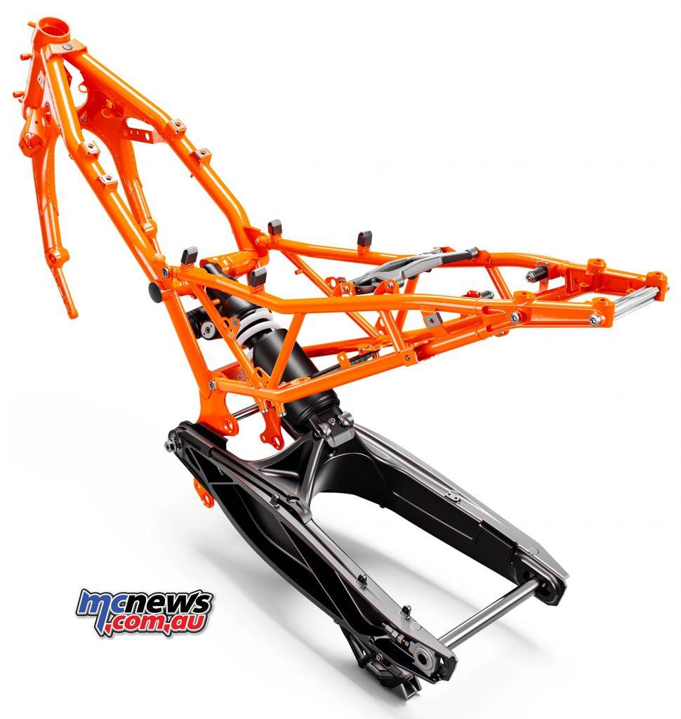 KTM Adventure Frame Subframe Shock