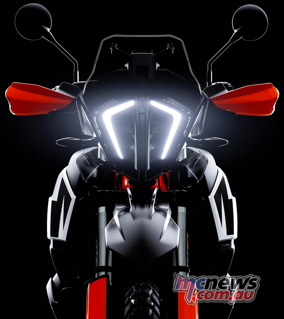 KTM Adventure Headlight