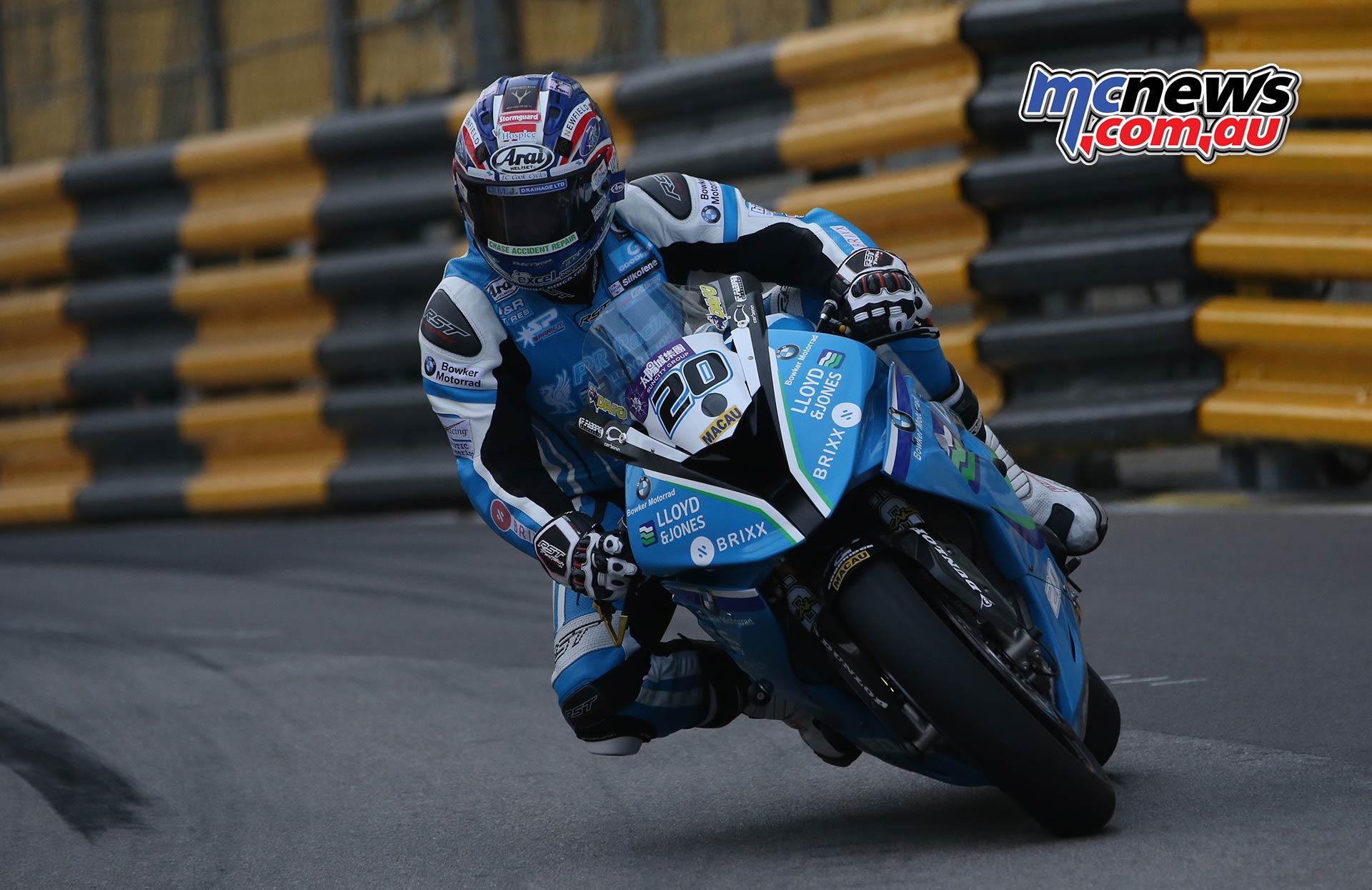 Macau GP David Johnson