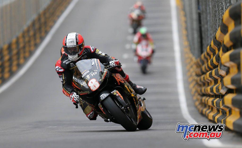 Macau GP Michael Rutter