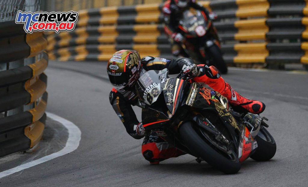 Macau GP Peter Hickman