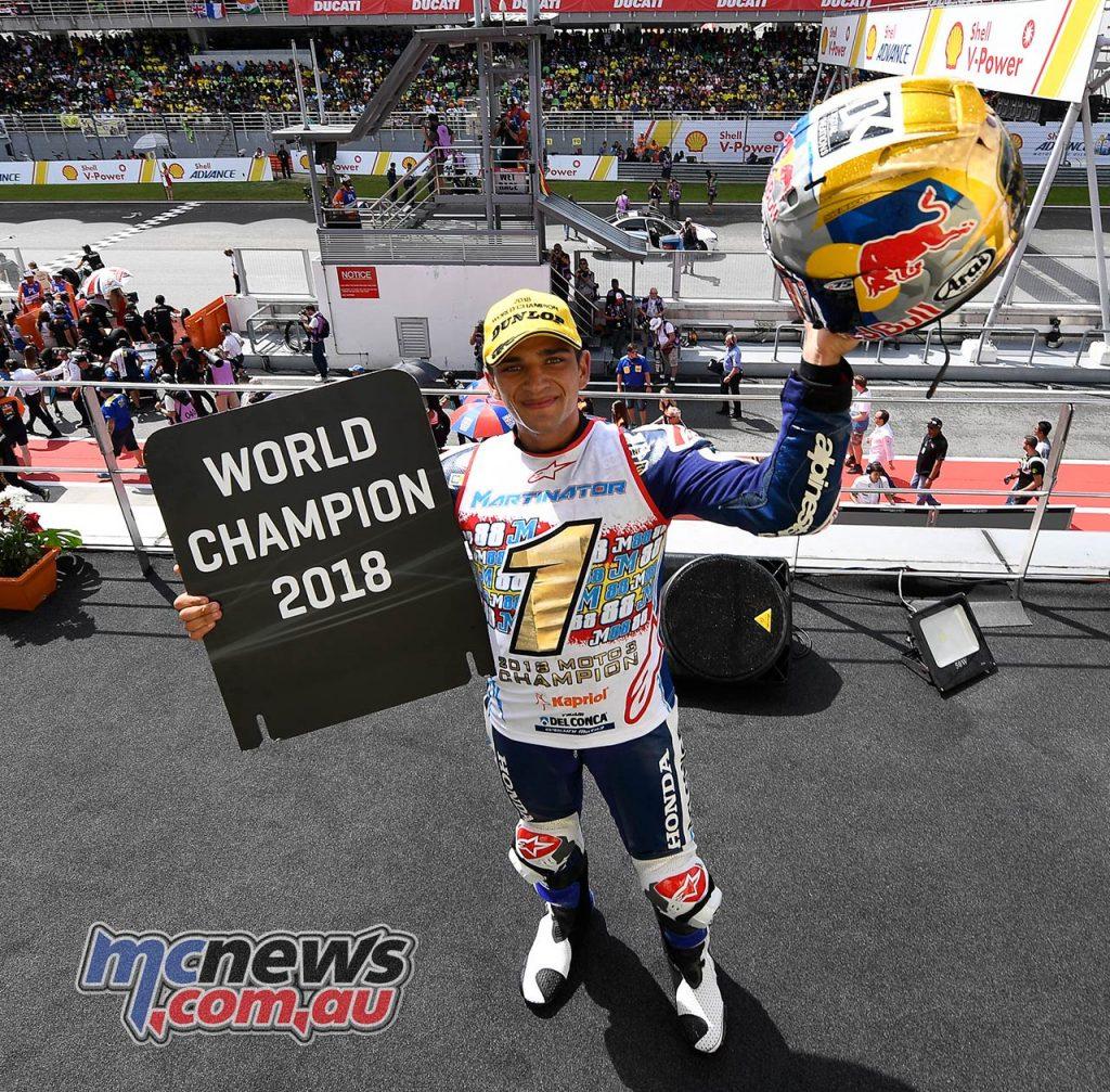 Moto Jorge Martin Champion