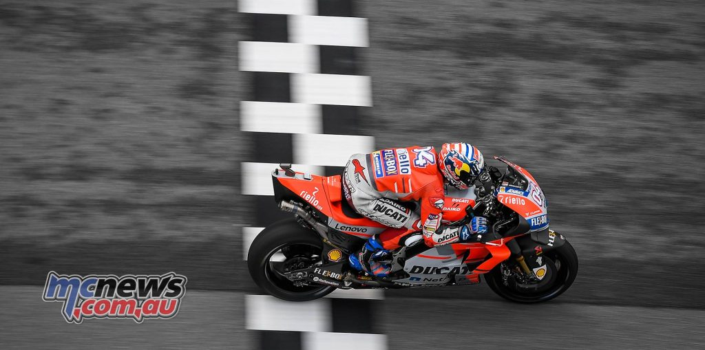 MotoGP Malaysia QP Dovizioso