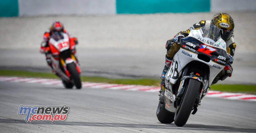 MotoGP Malaysia Race Abraham