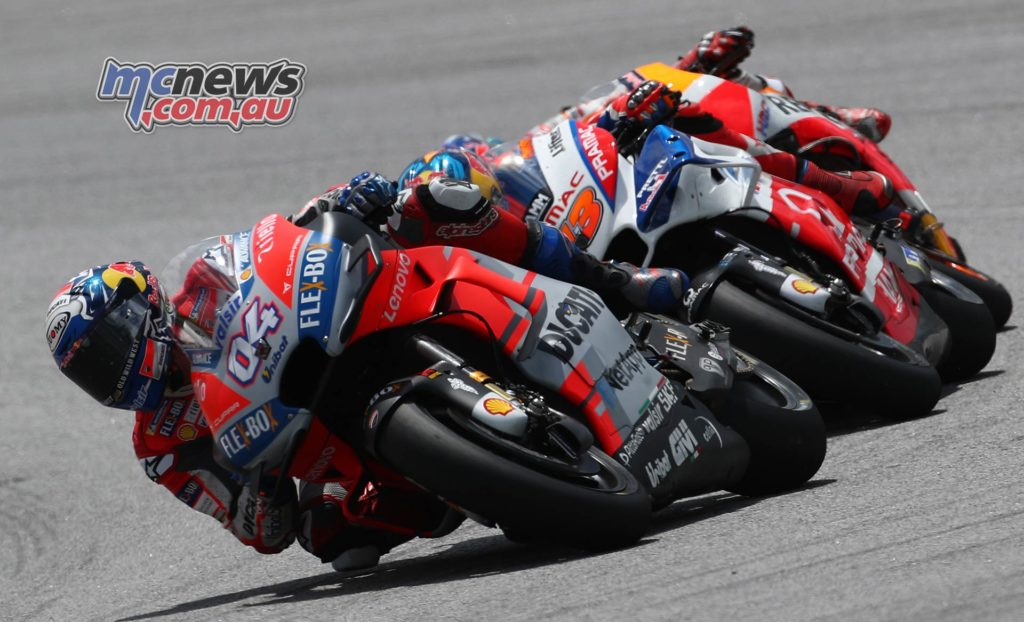 MotoGP Malaysia Race Dovizioso Miller