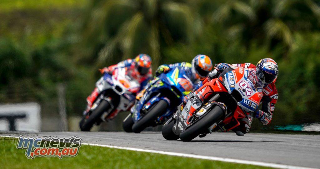 MotoGP Malaysia Race Dovizioso Rins Miller