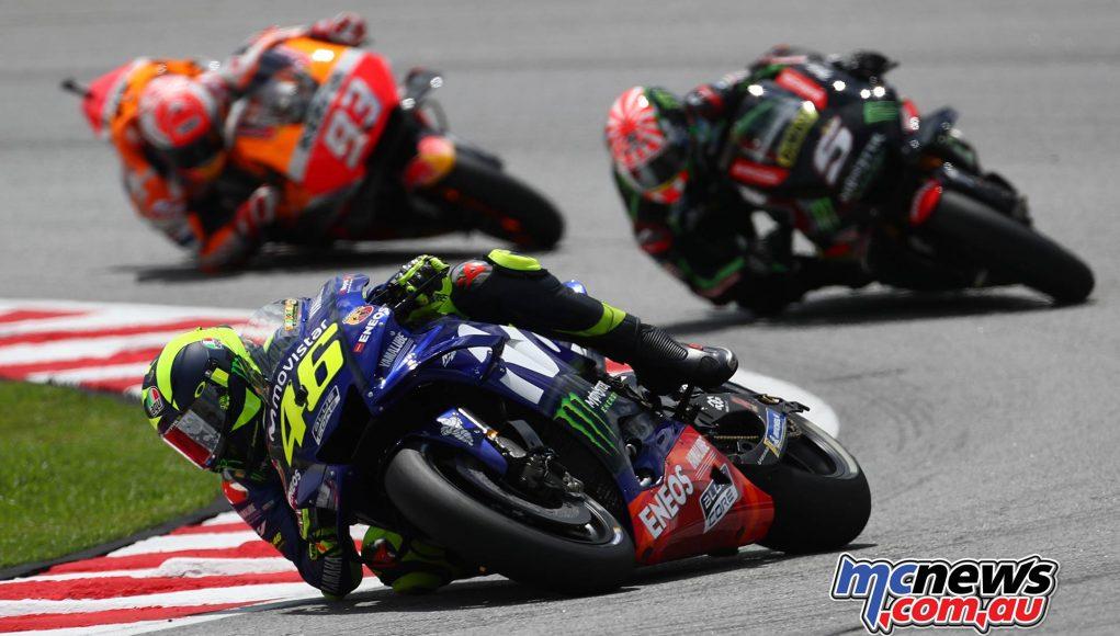 MotoGP Malaysia Race Rossi b
