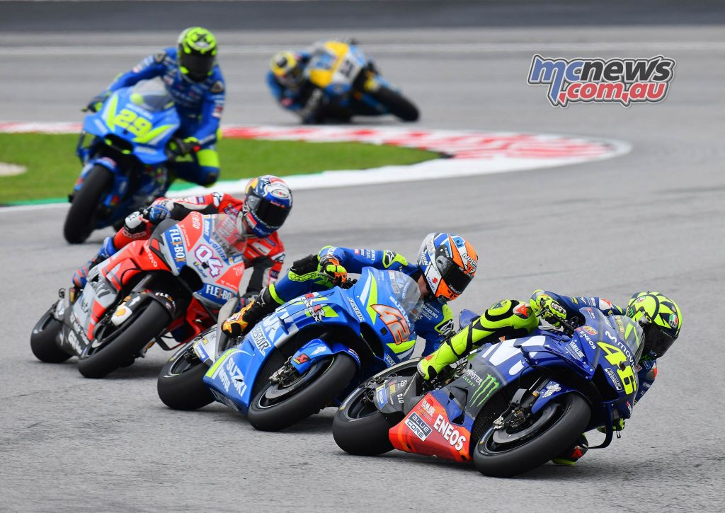 MotoGP Malaysia Race Rossi Rins