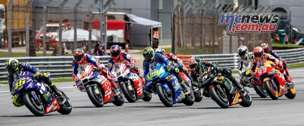 MotoGP Malaysia Race Start