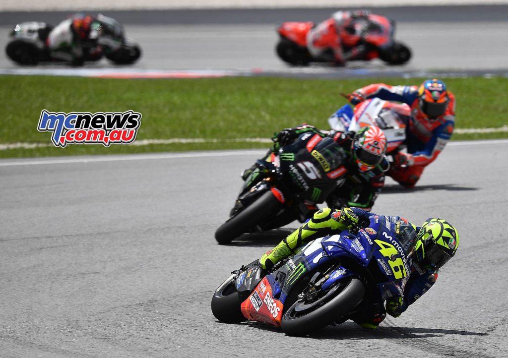 MotoGP Malaysia Race Starts