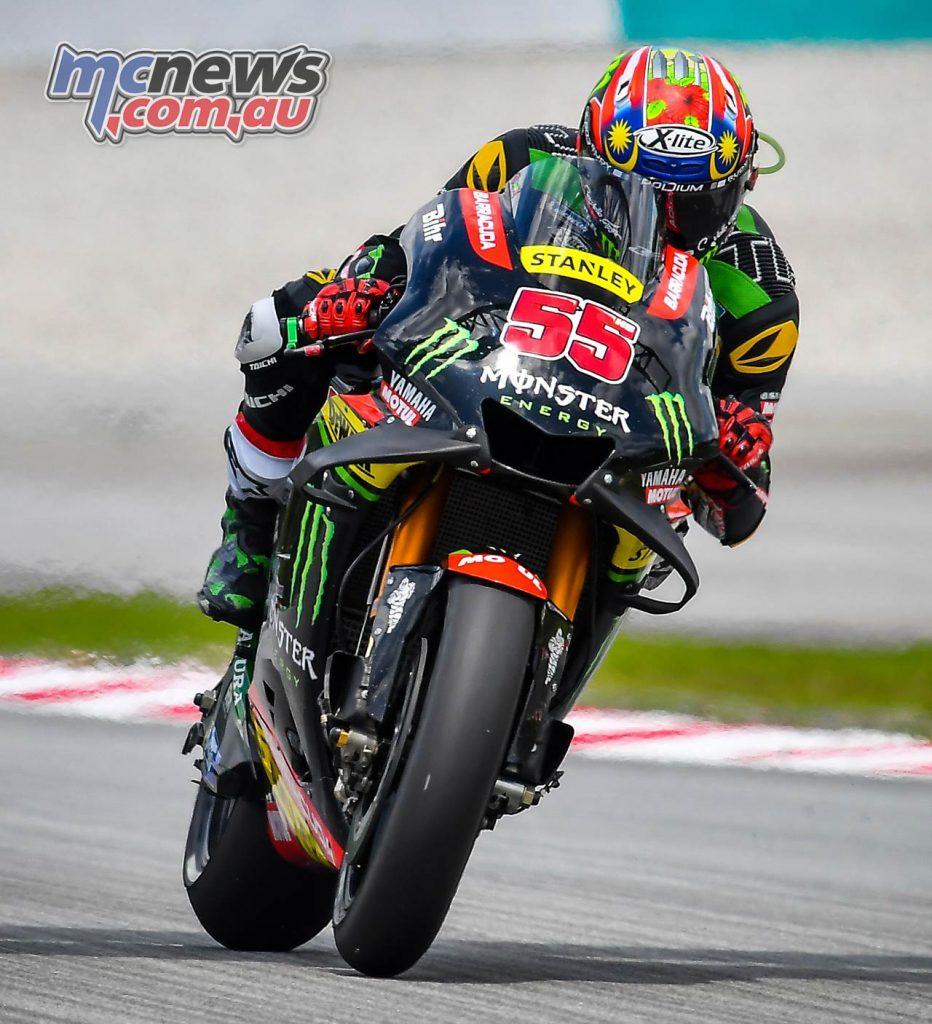 MotoGP Malaysia Race Syahrin