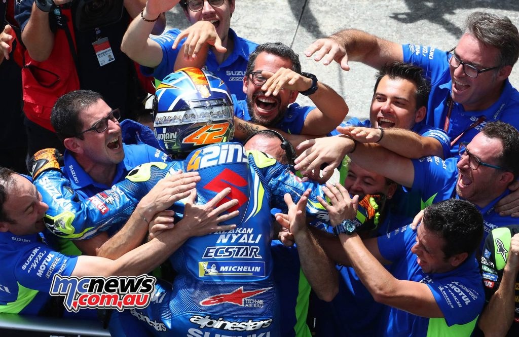 MotoGP Malaysia Rins Suzuki