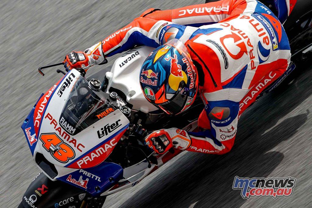 MotoGP Malaysia Teams Friday Miller