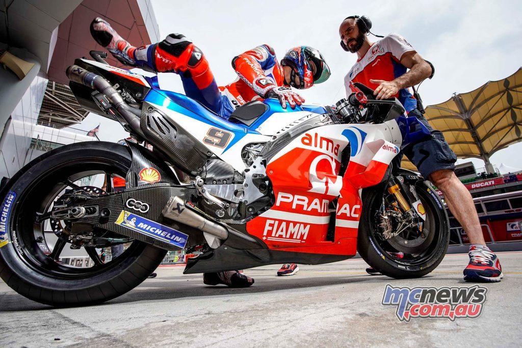 MotoGP Malaysia Teams Friday Petrucci