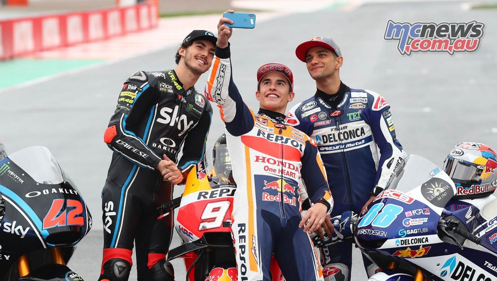 MotoGP Valencia Champions Marquez Bagnaia Martin Moto Moto