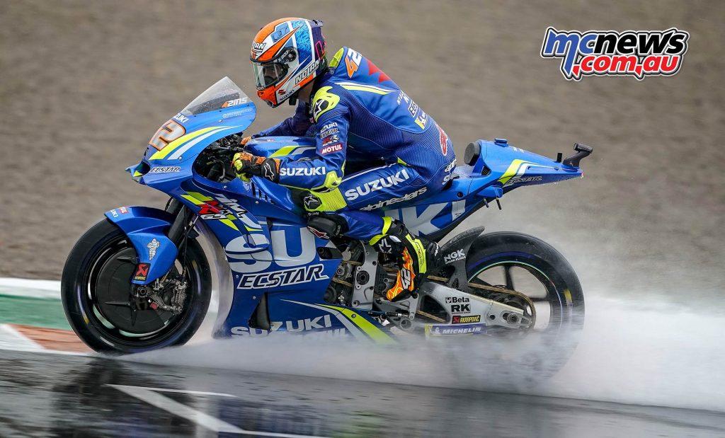 MotoGP Valencia Fri Alex Rins