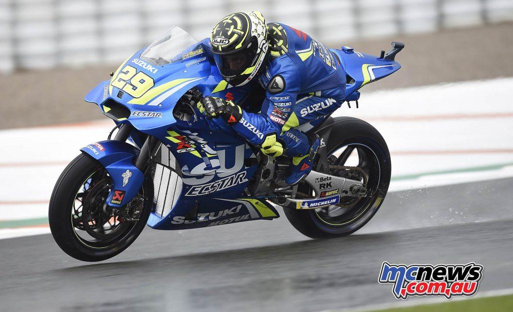 MotoGP Valencia Fri Andrea Iannone