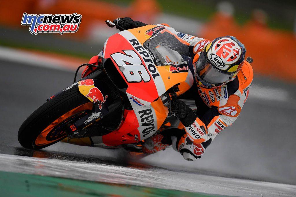 MotoGP Valencia Fri Dani Pedrosa