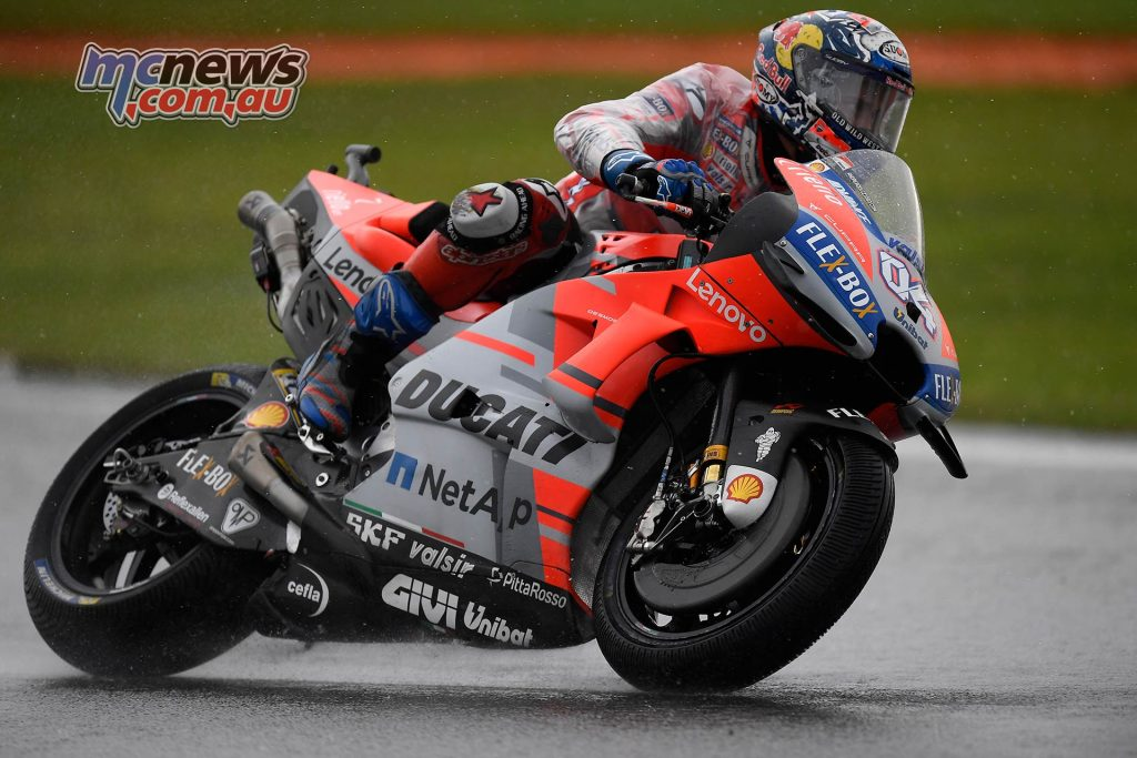 MotoGP Valencia Fri Dovizioso