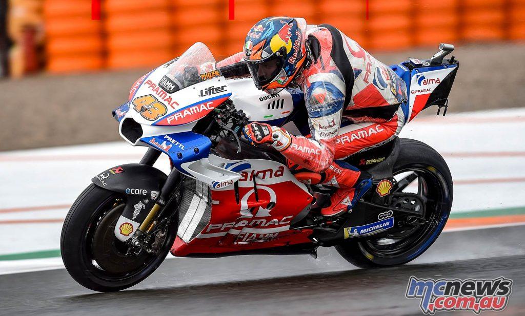 MotoGP Valencia Fri Jack Miller