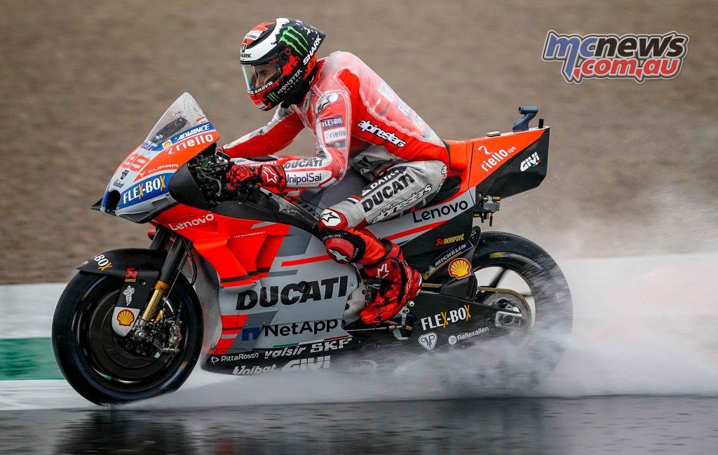 MotoGP Valencia Fri Jorge Lorenzo
