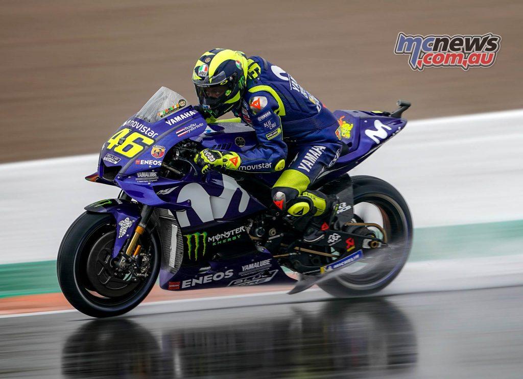 MotoGP Valencia Fri Rossi