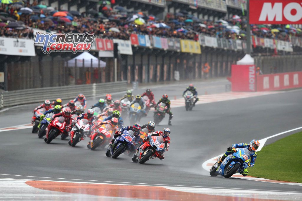 MotoGP Valencia GPstart GP AN