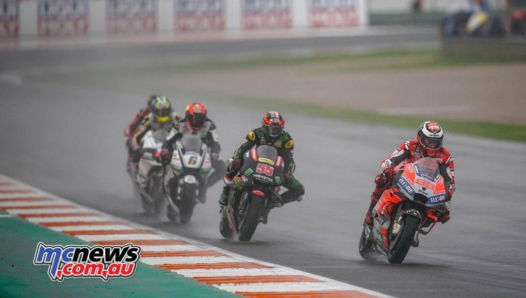 MotoGP Valencia Lorenzo Syahrin Bradl