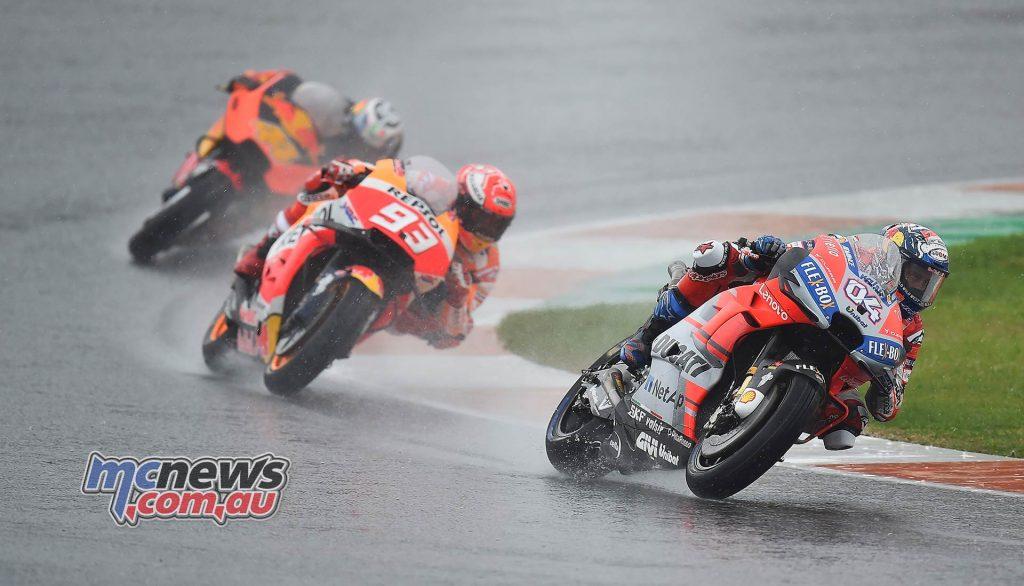 MotoGP Valencia Michelin Dovizioso Marquez Espargaro