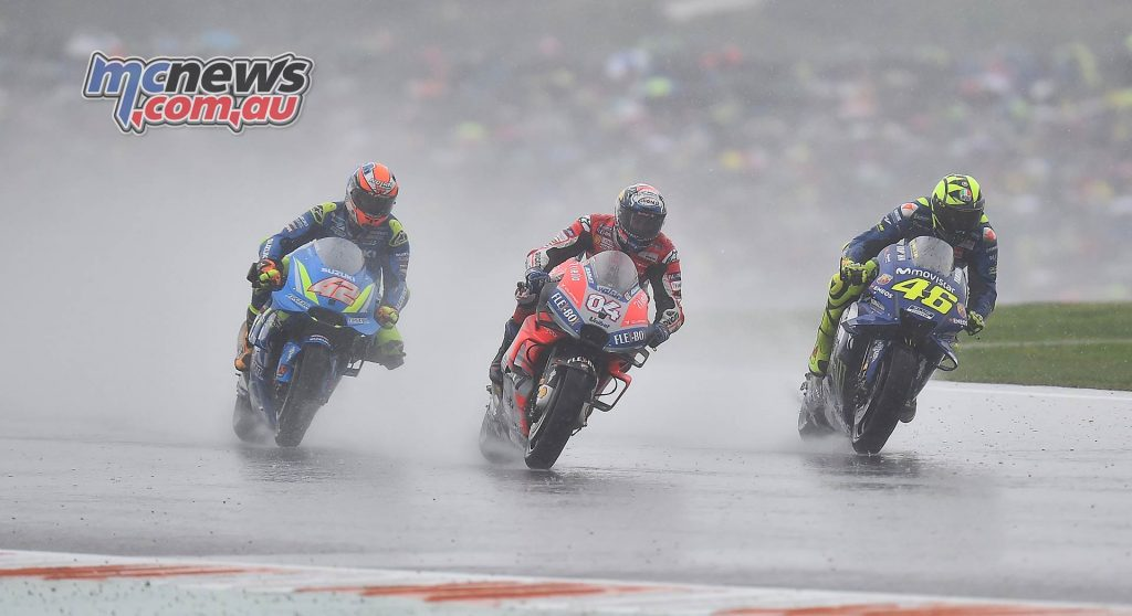 MotoGP Valencia Michelin Dovizioso Rins Rossi