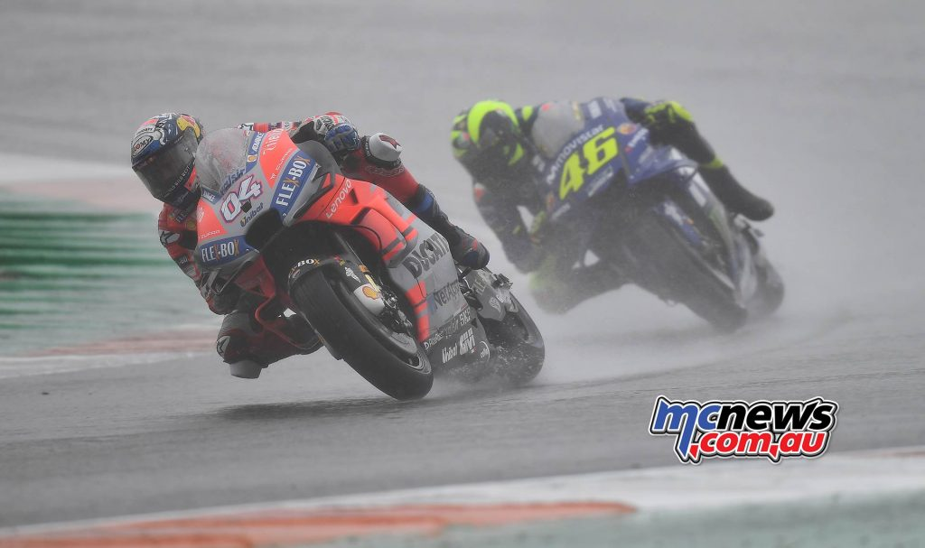 MotoGP Valencia Michelin Dovizioso Rossi