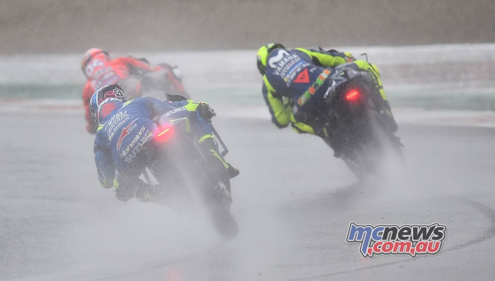 MotoGP Valencia Michelin Dovizioso Rossi Rins