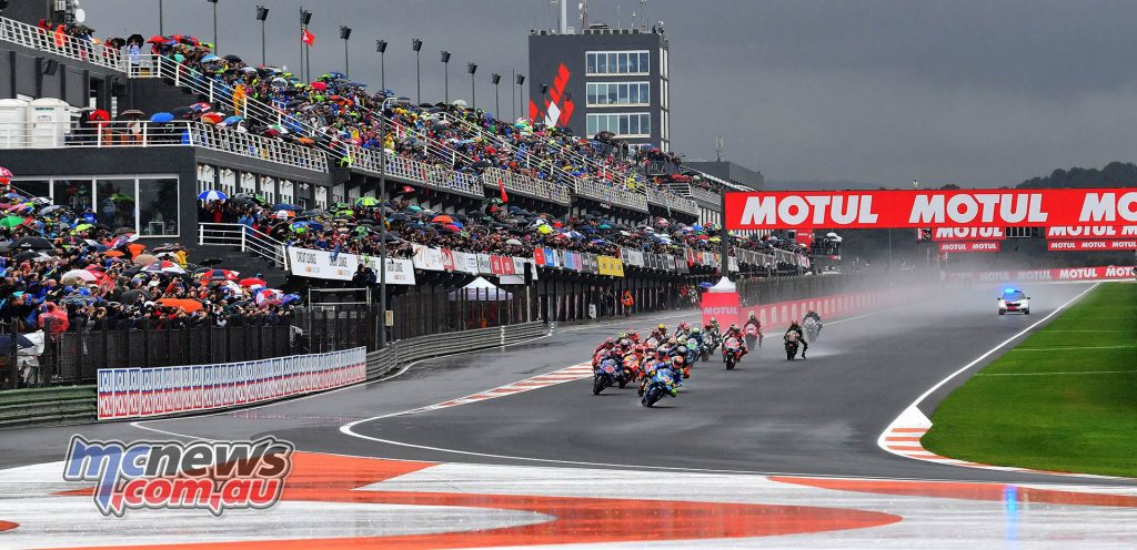 MotoGP Valencia Michelin Start