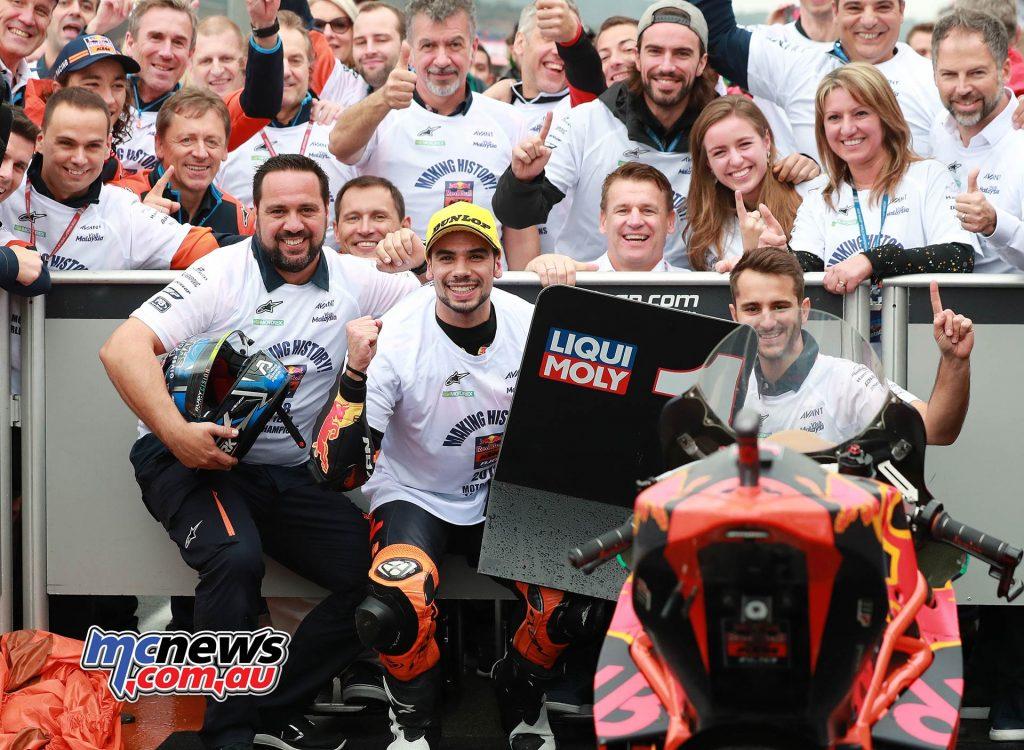 MotoGP Valencia Moto Miguel Oliveira KTM Moto Teams Champ